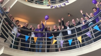 Stroke Association puts the spotlight on stroke with celebratory event during Make May Purple