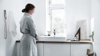 Silhouet kranene er både ett funksjonelt praktisk objekt og designelement i moderne hjem.