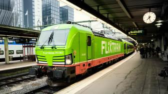 FlixTrain till Sverige