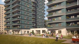 Byggnadsnämnden väntas fatta beslut om bygglov för ytterligare två punkthus på Öster Mälarstrand.