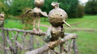 Barnens skulpturpark - Fågelkärlek (detalj2)