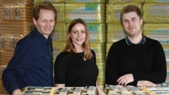 Fv. Agne Thuresson, Emma Jidefur och Joacim Furuhammar