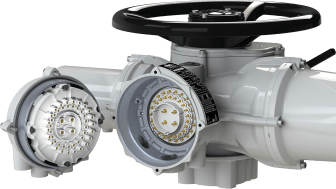 The Rotork plug and socket option provides further flexibility to the advanced, user-friendly design of IQ3 and IQT3 actuators.