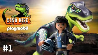 """Ab dem 2. Mai startet die neue Serie """"DINO RISE – Die Legende des Dino Rock"""" von PLAYMOBIL auf YouTube & YouTube Kids"""