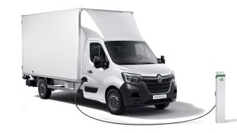Nya Renault Master Z.E. i fler versioner
