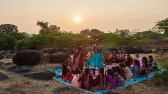 Ashok Dyalchand. Barnrättshjälte startar tjejklubbar mot barnäktenskap