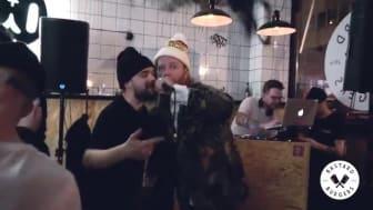 Bastard Burgers premiär i Stockholm 2 juli 2018
