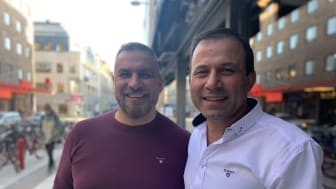 Walid Metto och Hakim Dilmar