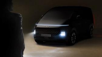 Helt nye Hyundai STARIA. Foto: Hyundai
