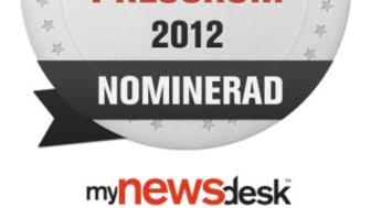 Viasat nominerade till Årets Pressrum