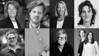 Några av de medverkande Johanna Frelin, Sebastian Fors, Ulla Bergström, Filiz Coskun, Mark Isitt, Theresia Svanholm, Søren Øllgaard, Annika Hedeblom och Karin Skogslund.