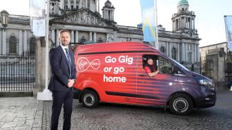 Virgin Media connects Ballymena to gigabit speeds