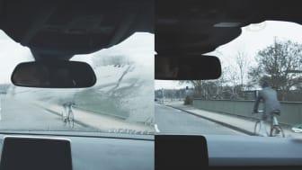 Fords nya teknologi tar automatiskt bort imma från vindrutan