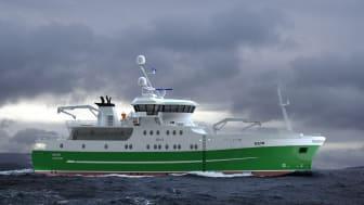 Slik blir fiskefartøyet MS Seir (Ill.: Skipsteknisk)