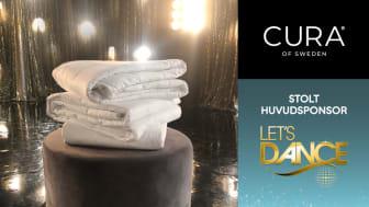 CURA of Sweden AB är stolta huvudsponsorer av årets Let's Dance i TV4
