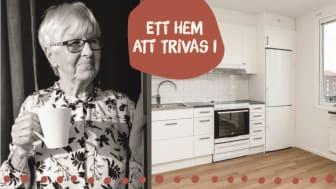 På Plusboendet Granen kan personer som är 65 år eller äldre hitta ett hem att trivas i.
