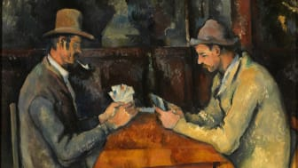Paul Cézanne: Kortspillerne / The Card Players, cirka 1892-96. Courtauld Gallery.