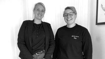 Vi välkomna Johanna Kärrman och Gry Kruslock till Arom-dekor Kemi.