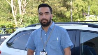 Hakan Bilgic, driftchef och ansvarig för kommunbevakningar i Stockholm.