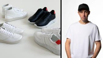 Designern Chris Margetts från The Sole Theory tar sikte på nästa generations skor.