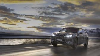 BMW iX i Norge