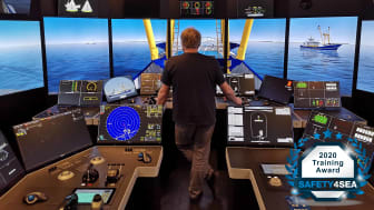 Contributing in enhancing skills, safety and sustainability in the fishing industry, the K-Sim Fishery simulator won the prestigious SAFETY4SEA Training Award 2020