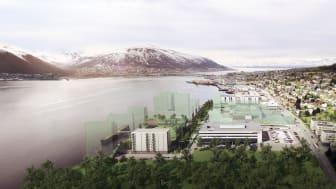 TENKER NYTT: Kræmer Brygge i Tromsø er et av prosjektene som nå er ferdig utredet