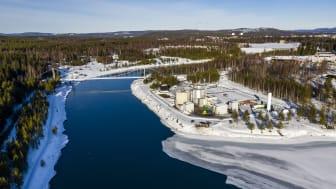 Biogasanläggningen i Boden. Foto: Mats Engfors, Fotographic