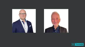 """Till vänster, Johan-Christer """"JC"""" Svensson. Till höger, Mats Olofsson."""