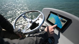 High res image - Raymarine - Axiom+ 9 in the Tower
