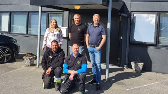 Gry Pedersen, Jørg Scholz, Yngve Kvia, Stig Kastmo och Kai Johannessen