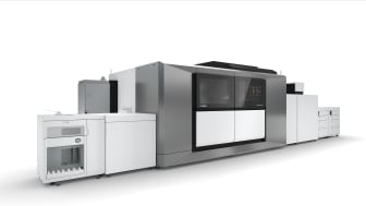 Canon now holds the number one spot for the Sheet Fed Inkjet Heavy Production Printing Segment with a 40% share