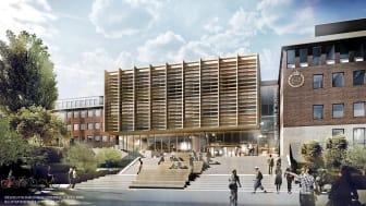 Södertälje Science Park invigs den 30 januari 2018 med tillgång till en kreativ coworking space. Teknikkonsultföretaget Sigma  blir första hyresgästen.
