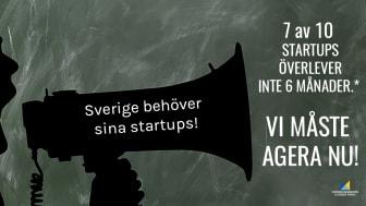 Upprop - rädda våra svenska startups!