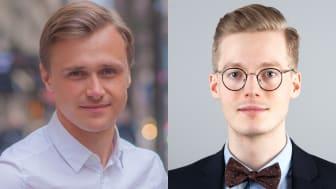 Emanuel Örtengren och Caspian Rehbinder. Foto: Mikael Eisen/Anders Meisner