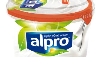 Alpro alternativ til yoghurt naturell sukkerfri