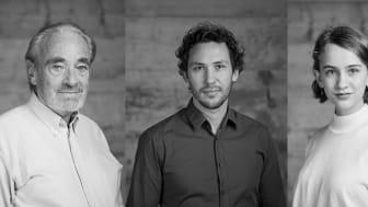Drei von über 40 Darstellerinnen und Darsteller bei Goethes ‹Faust 1&2› am Goetheanum: Urs Bihler, Bernhard Glose und Ludowika Held (Fotos: Lucia Hunziker)