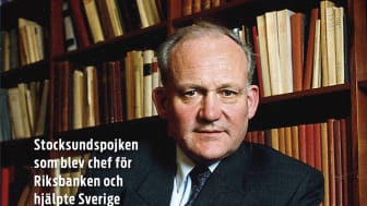 Ny bok: Lars Wohlin - Stocksundspojken som blev riksbankschef och hjälpte Sverige säga nej till euron