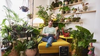 Ruotsalainen trendiasiantuntija Stefan Nilsson suunnitteli oman aamuhuoneensa