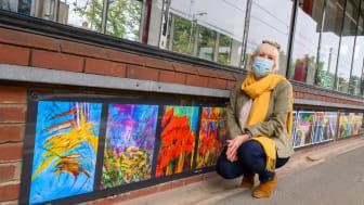 Radlett artist Gaye Daniels