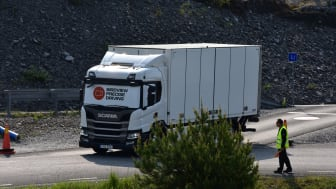"""""""Bird View"""" konkurrence ved Europa finalen i Scania Driver Competitions 2018-2019"""