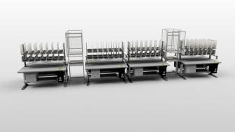 Packbordsflöde med integrerad lösning för air seals