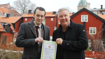 Mimers ordförande Jesper Brandberg och VD Mikael Källqvist