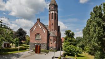 Die Hephata-Kirche in Schwalmstadt-Treysa.