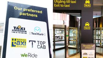 WeRide blir rekommenderad taxipartner till Stockholmsmässan