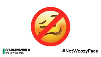 APPLE ISSUE IOS UPDATE TO STOP THEIR DEVICES ASSOCIATING WOOZY FACE TO STAMMERING