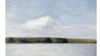 "Vilhelm Hammershøi: ""Landskab. Sommer. Fra Lyngby Sø"""