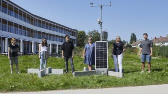 Erfassung von Klimadaten: dm-dialogicum geht ans weltweite Netz der Klimastationen