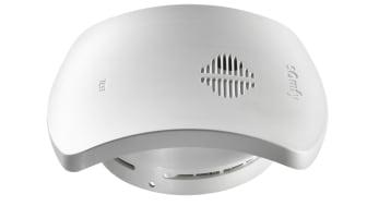 Somfy Smoke Sensor io är en ny uppkopplad brandvarnare för det smarta hemmet.