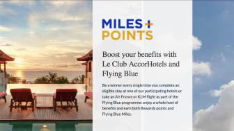 Accor och Air France-KLM lanserar nytt lojalitetssamarbete